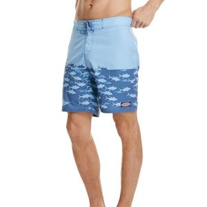 Vineyard vines fish chain board shorts swimsuit